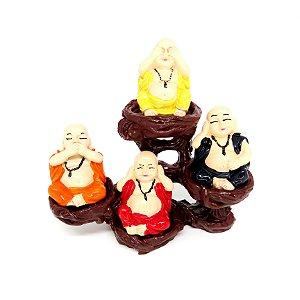 Buda no Suporte Conjunto c/ 4