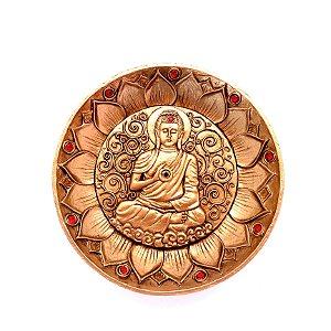 Porta Incenso de Resina Prato/Mandala - Sidarta Gautama