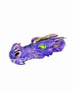 Incensário Cabeça de Dragão - Azul