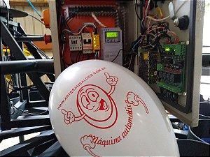 Máquina automática para personalizar balões exclusiva