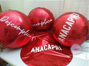 Balões metalizados 20 polegadas redondos personalizados