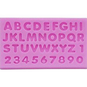 Molde Silicone Alfabeto PRIMECHEF - GMEZN376