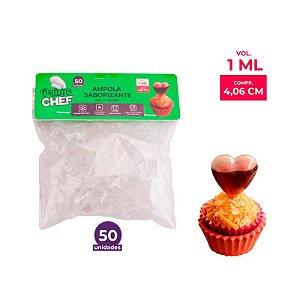 Ampola Saborizante Coração 1ml Prime Chef - 50und