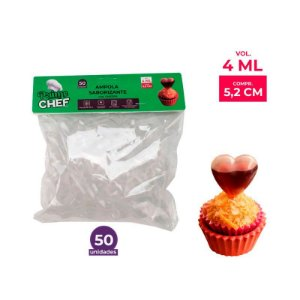 Ampola Saborizante Coração 4ml Prime Chef - 50und