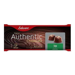 CHOCOLATE AUTHENTIC SOJA, ZERO AÇÚCAR 1,01KG - SALWARE