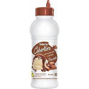 COBERTURA PARA SORVETE SABOR CHOCOLATE 300G - SELECTA