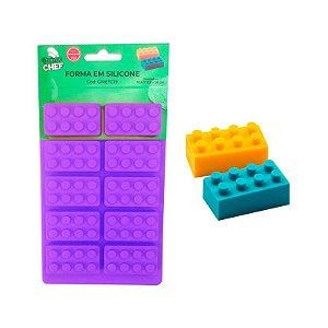 FORMA EM SILICONE DE LEGO - PRIME CHEFE
