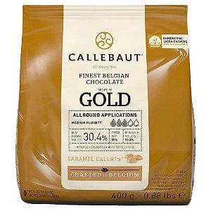 CHOCOLATE CARAMELO 30,4% CACAU GOTAS 400g - CALLEBAUT