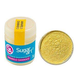 Pó Sugar Art Decoração Amarelo Damasco 3g