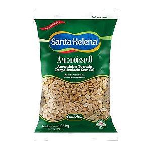 Amendoim Torrado Despeliculado s/ Sal Santa Helena 1,05kg