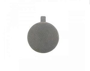 Base Laminada Prata 8cm - 30 unid