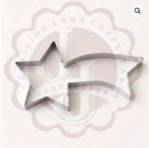 Cortador Metal Estrela Cadente JJ