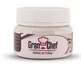 Corante Dioxido Titanio em Pó Branco Gran Chef 15g