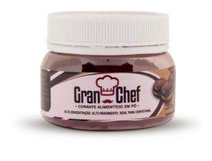 Corante Hidrossolúvel Marrom Gran Chef 5g