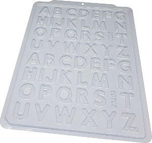 Forma Acetato Profissional Alfabeto Nº708 BWB 3517