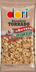Amendoim de Boteco Lascas de Alho Dori 320g