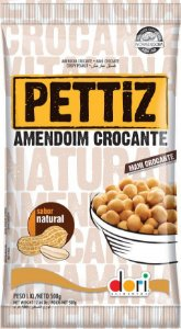 Amendoim Pettiz Natural Crocante Dori 500g