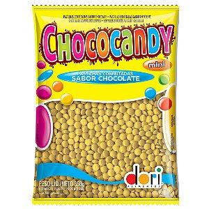 Pastilhas Chocolate Chococandy Mini Amarelo Dori 350G