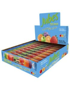 Goma Jubes Fruit Snacks Tubo Dori 20 unid
