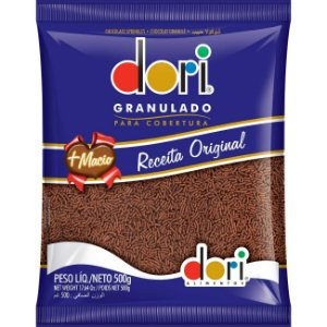 Granulado Chocolate Macio Dori 500g