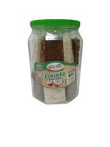 Doce de Cocada Tradicional Mista Doce Mais 1,1kg