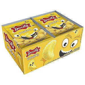 Bala Gelatines Mini Banana Docile 180g