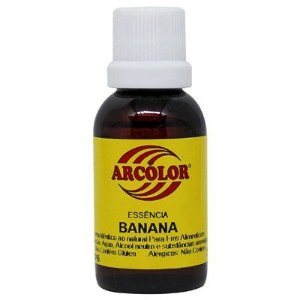 Essência Banana Arcolor 30ml