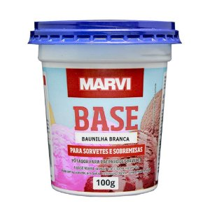 Base Baunilha Branca Marvi 100g