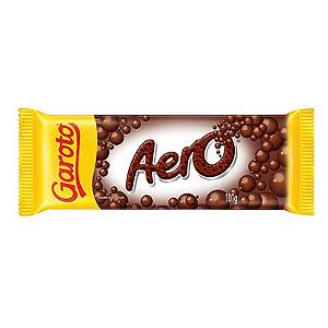 Chocolate Tablete Aero Garoto 101g