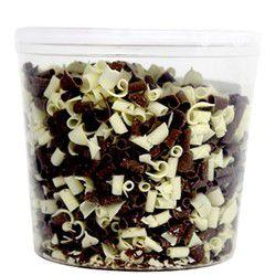 Chocolate Meio Amargo/Branco Callebaut Blossoms 250g