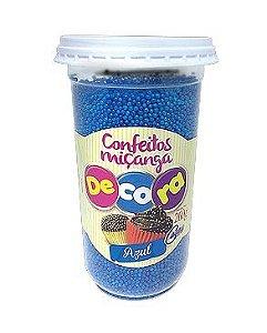 Confeito Decora Azul Cacau Foods 260g