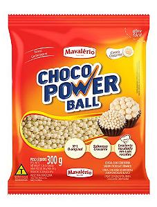 Choco Power Ball Mini Chocolate Branco Mavalério