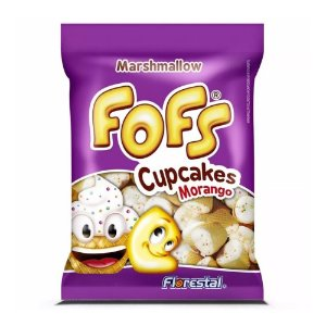 Fofs Marshmallow Cupcakes Morango Florestal 320g