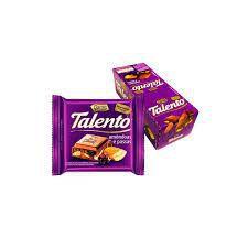 CHOCOLATE TALENTO AO LEITE COM AMÊNDOAS E PASSAS - GAROTO