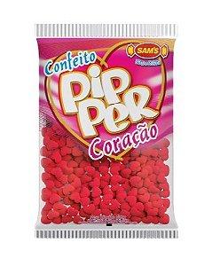 Confeito Pipper Coração Vermelho SAMS 500G