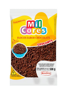 Flocos Crocante Chocolate Mil Cores 500g