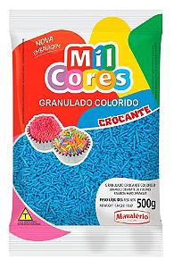 Granulado Crocante Azul Mil Cores  500g