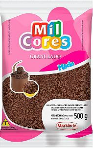 Granulado Macio Chocolate Mil Cores 500g
