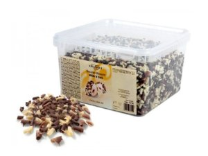 Blossoms Chocolate Meio Amargo/Branco Callebaut 1kg