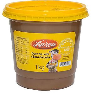 Doce de leite e Soro de Leite Aurea 1kg