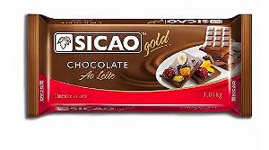 Chocolate Gold ao Leite Barra Sicao 1,01kg