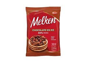 Chocolate em pó 50% Melken