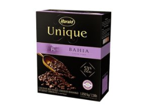 Chocolate Unique Bahia 53% Gotas Harald 1,05kg