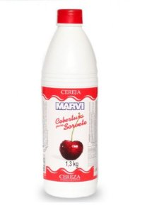 Cobertura Sorvete Cereja Marvi 1,3kg