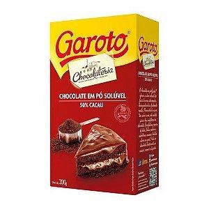 Chocolate em pó 50% Cacau Garoto 200g