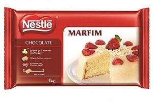 Chocolate em barra Marfim Nestlé 1kg