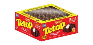 Tetop Chocolate Jazam 50 unid