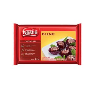 Chocolate em barra Blend Nestlé 1kg