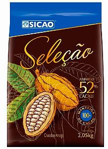 Chocolate Seleção 52% Cacau Sicao 2,05kg