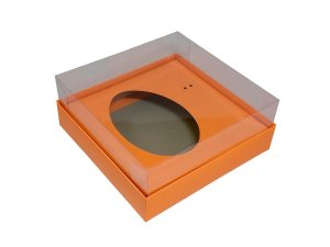 Caixa Ovo de Colher Laranja 150G c/ 5unid